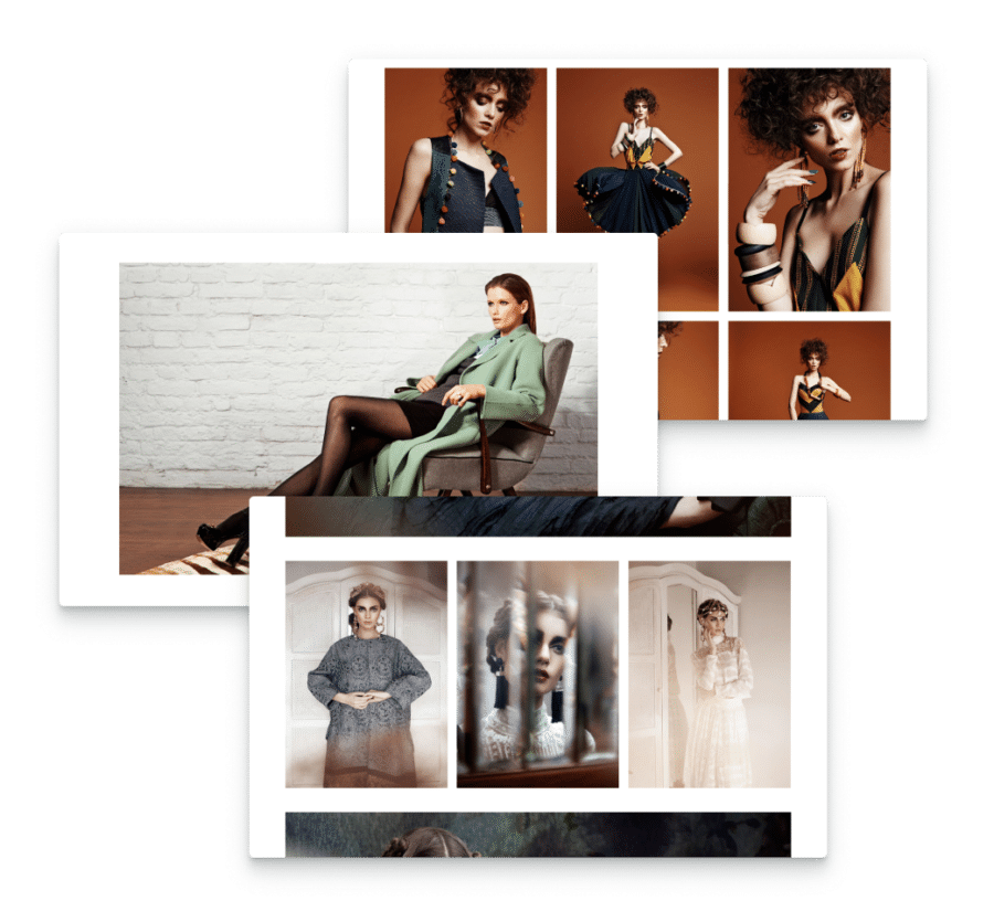 mix landscape or portrait photography, text, slideshows with this WordPress theme for photographers