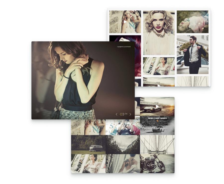 easy photography organization system from Lens a clean photography WordPress theme