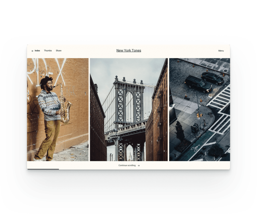 Fargo WP Theme - Different View Options
