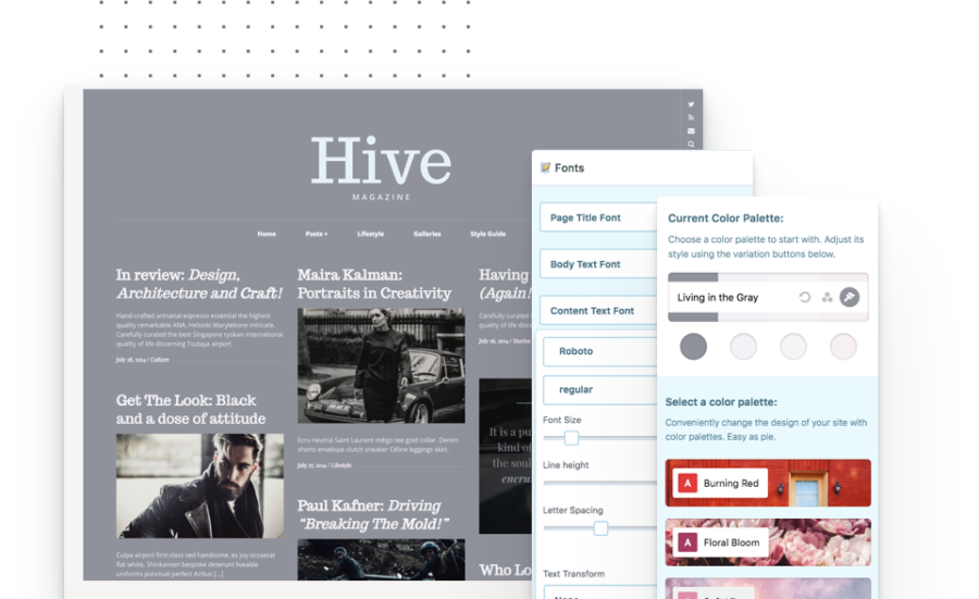 Hive Blogging WordPress Theme - Pixelgrade
