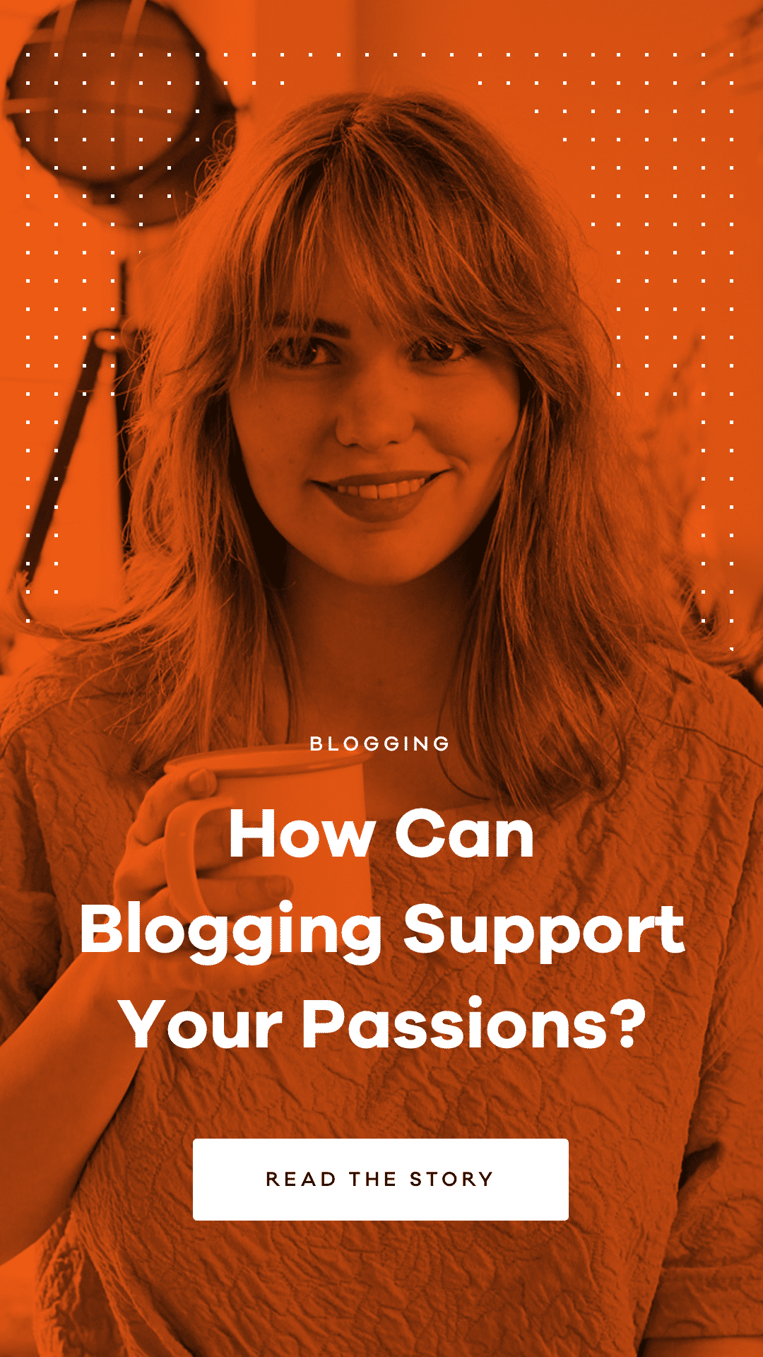 Frauke is a Belgian DIY creator who uses blogging as a way to support her creative passions. Learn how she uses her blog to achieve that.