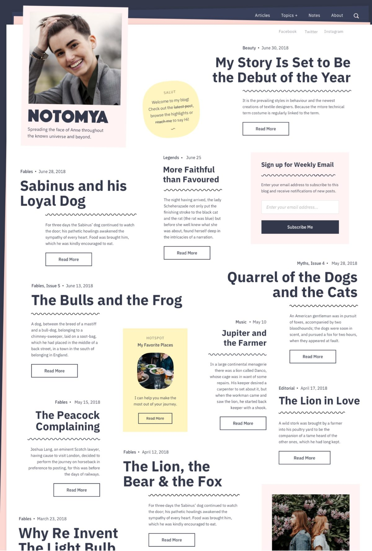 😍 Best wordpress themes for writers