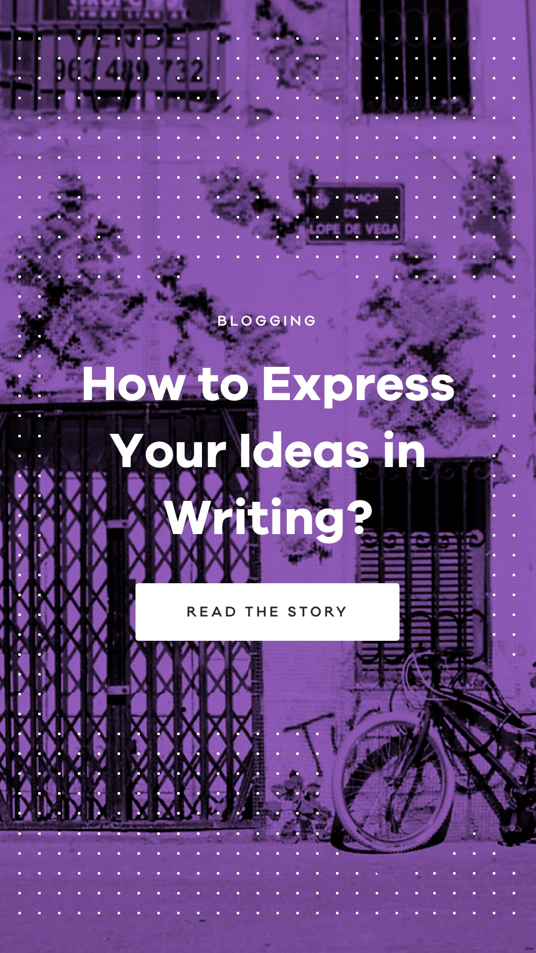 Learn how to express your ideas in writing without losing your personality.