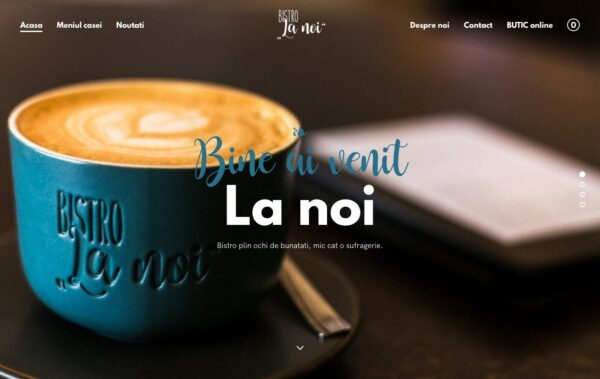 Bistro La noi Homepage Created with Rosa 2